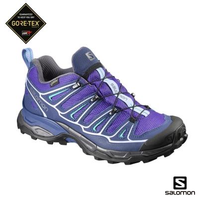 Salomon-所羅門-GoreTex-低筒登山鞋