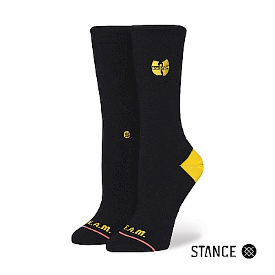 STANCE C.R.E.A.M.-女襪-休閒襪-美國嘻哈音樂組合武當派聯名款