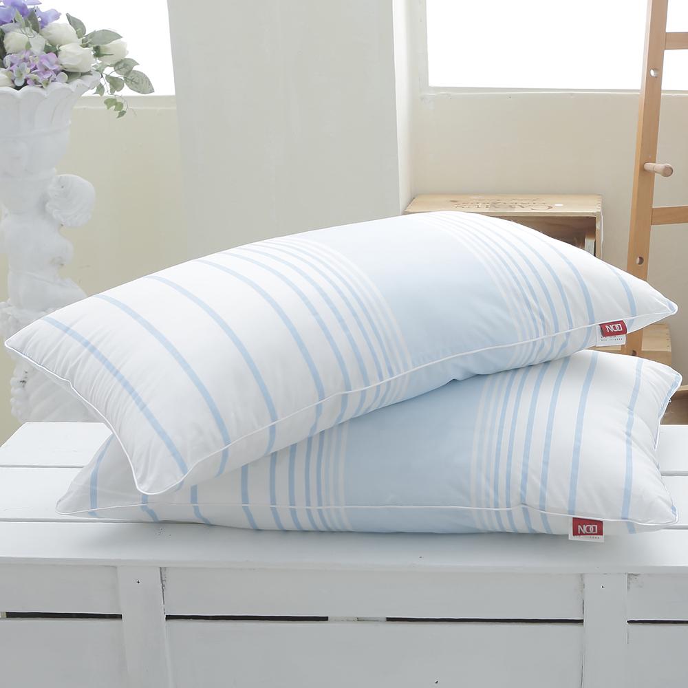DON舒柔好眠 都會藍調舒柔印花枕