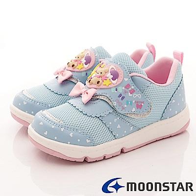 日本Carrot機能童鞋-2E熊熊穩定鞋款-TW1979藍(中小童段)