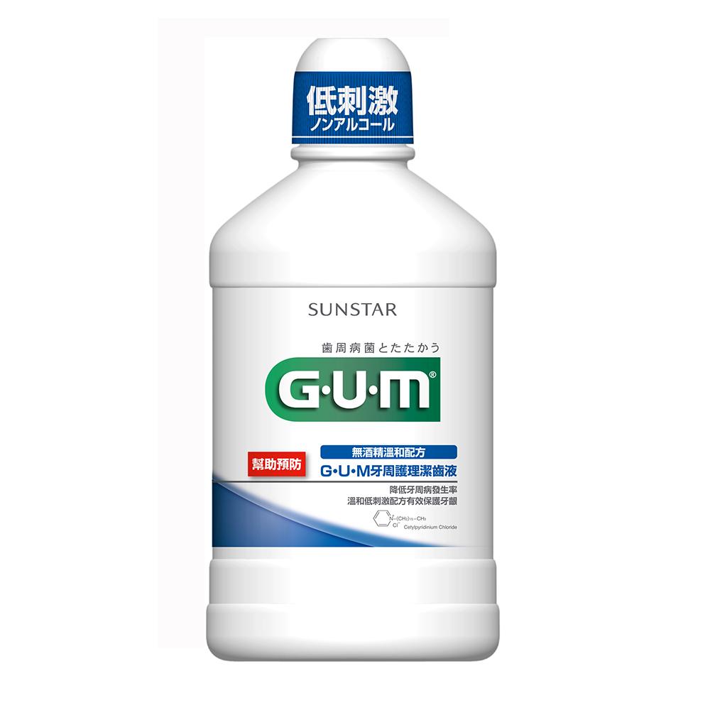 GUM 牙周護理潔齒液 500ml