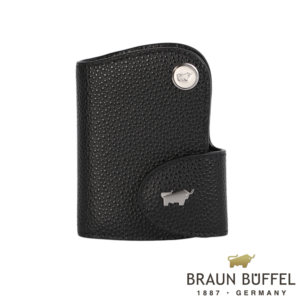 BRAUN BUFFEL - HOMME-B紳士系列感應器鑰匙包 - 黑色