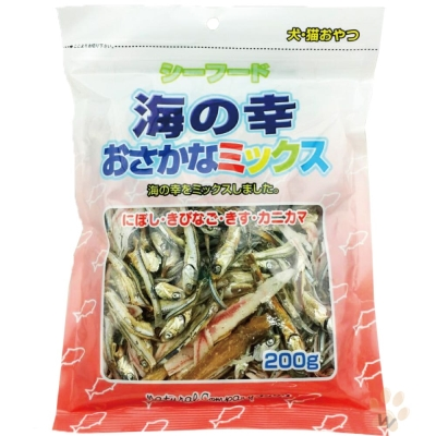 日本零食 海鮮總匯200g 1入