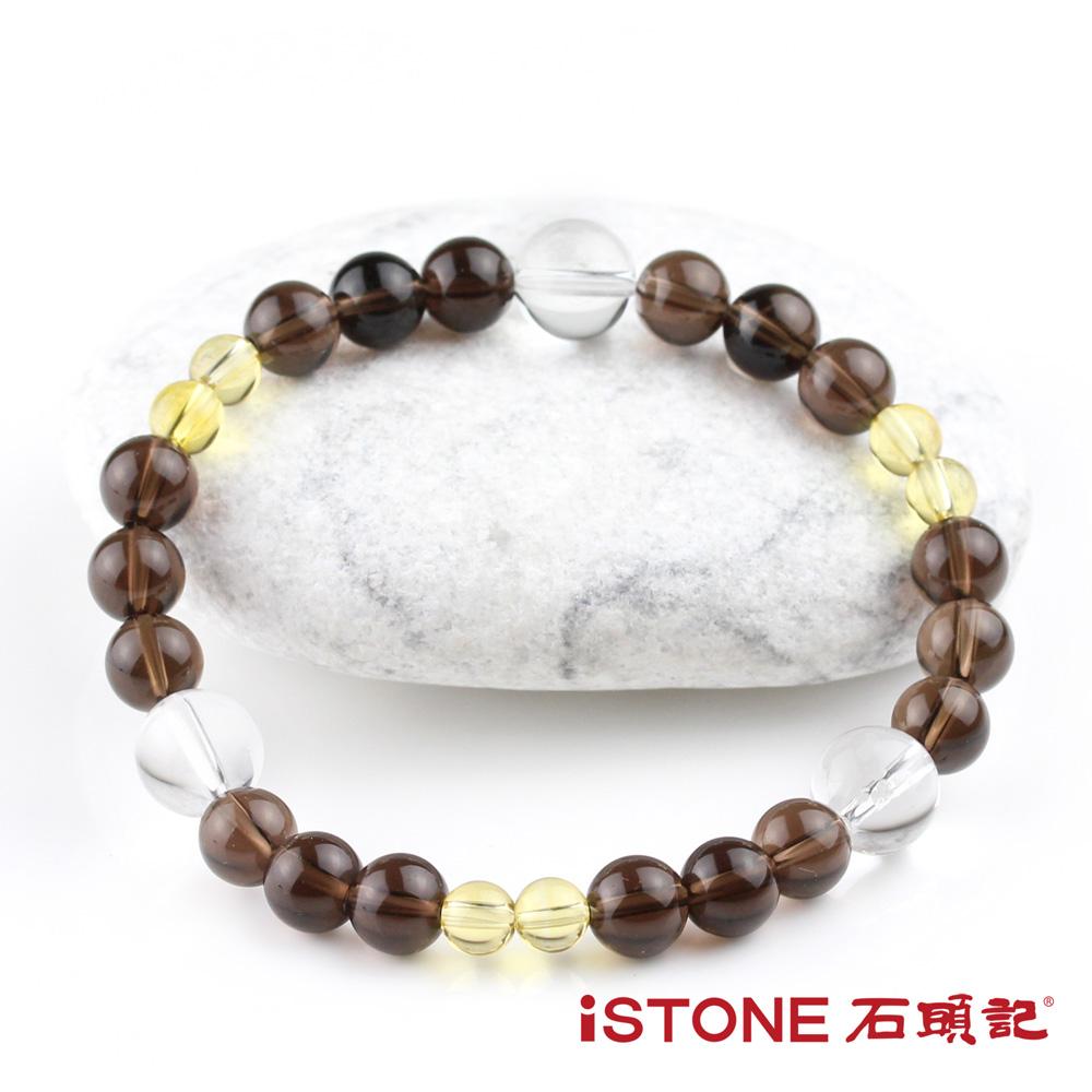 石頭記 茶水晶開運手鍊-意至堅定