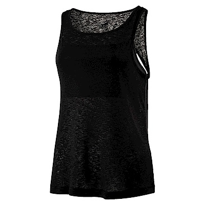 PUMA-女性訓練系列層次運動背心-黑色-歐規
