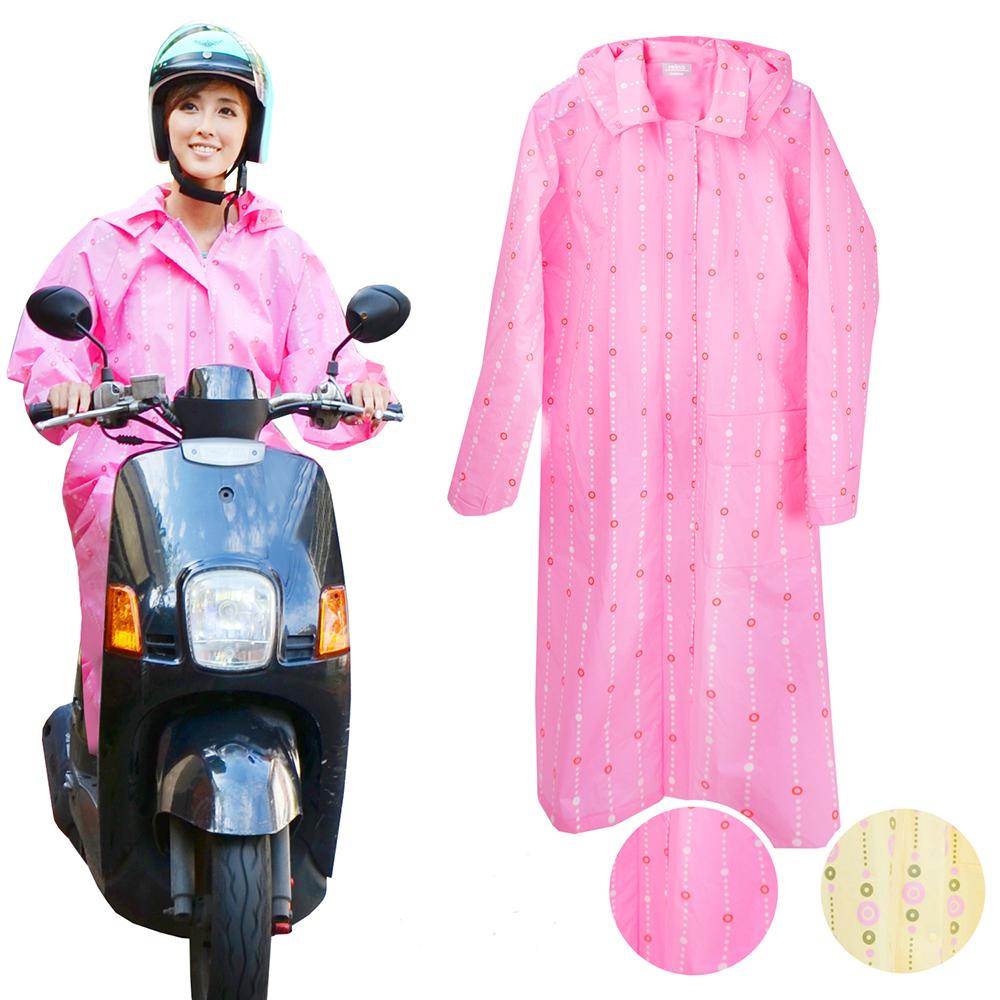 2mm繽紛時尚 EVA環保雨衣-粉紅