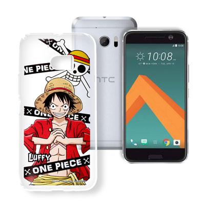 授權正版航海王 HTC 10 / M10 透明軟式手機殼(封鎖魯夫)