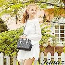 KINAZ 耀眼星光兩用斜背包-經典深藍-莊園系列