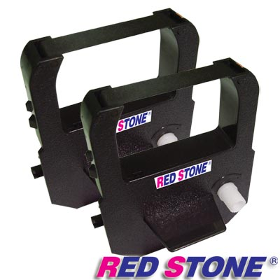 RED STONE for ALWAYS AW100電子式印時鐘黑色色帶組(1組2入)