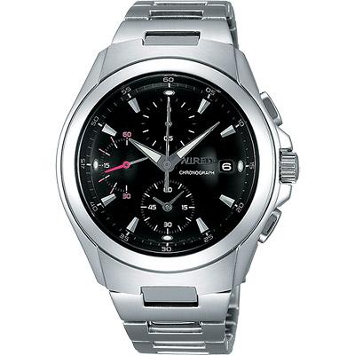 WIRED 急凍人風暴計時腕錶(AF8Q23X)-黑/42mm