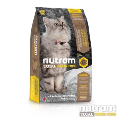 Nutram紐頓 T22無穀貓 火雞配方 貓糧 1公斤