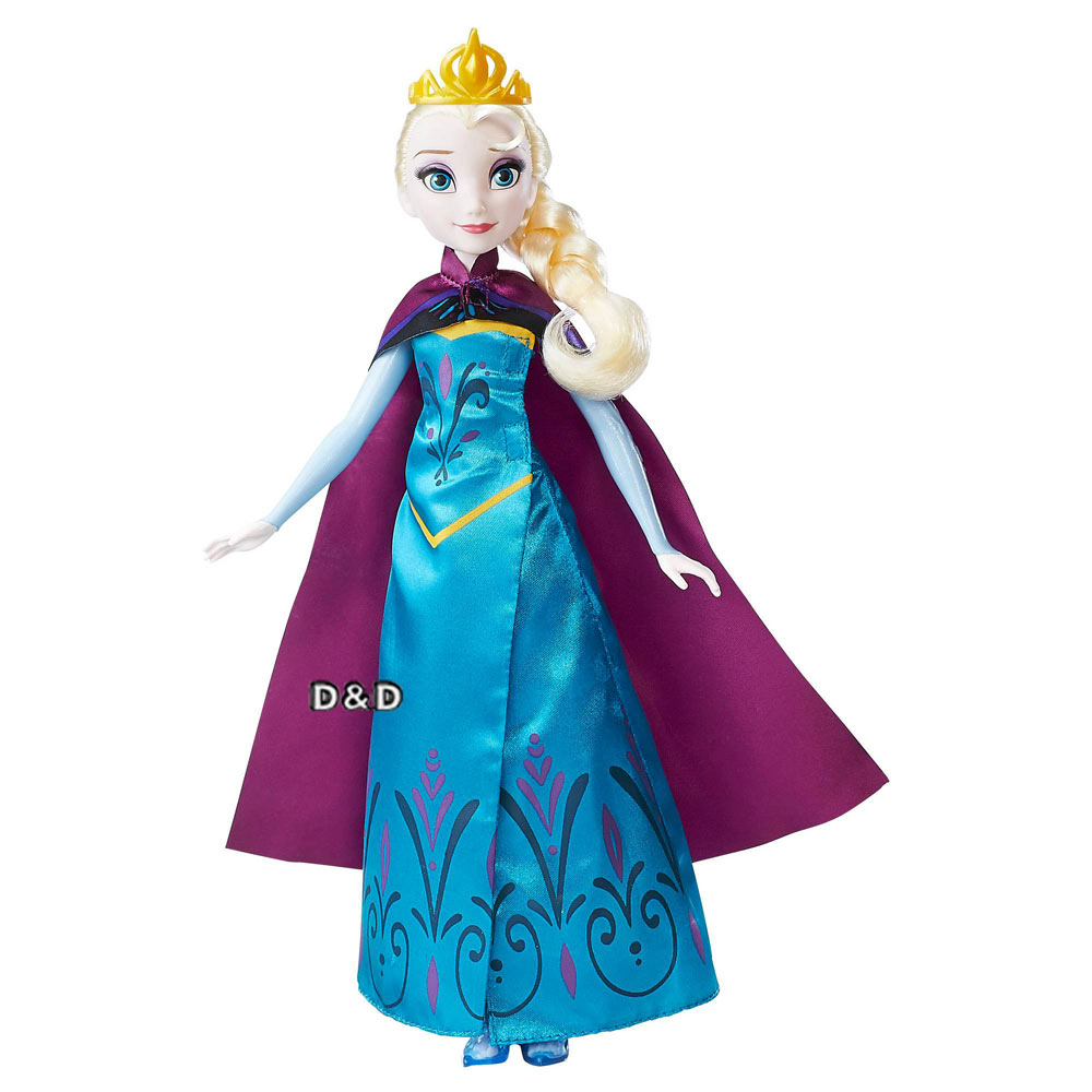 迪士尼公主系列冰雪奇緣艾莎加冕換裝組