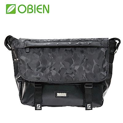 Obien 歐品漾 都會型 萬用迷彩 小郵差包