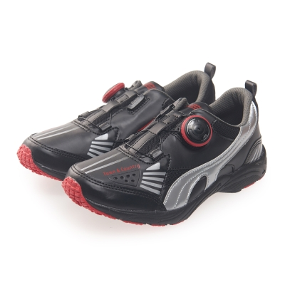 TOWN&COUNTRY 童鞋-撞色輕量運動款*黑色