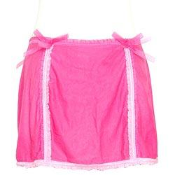 維多利亞的秘密 薄紗粉紅性感緞帶睡裙【M號】