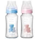 奇哥 耐熱硼矽玻璃奶瓶240ml (2色選擇)