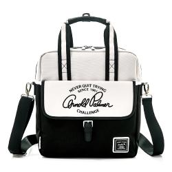 Arnold Palmer- 2WAY手提包 Casual 學院休閒系列-淺灰色