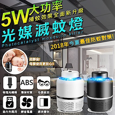 【FJ】激光媒吸入式LED捕蚊燈/滅蚊器(MW-68)