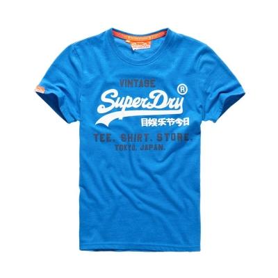 SUPERDRY 極度乾燥 文字短袖 T恤 藍色 0041