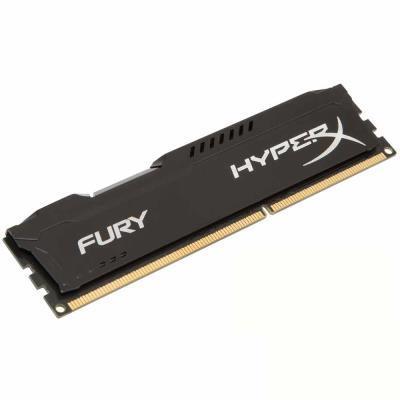 Kingston 金士頓 Fury DDR3-1866 8GB桌上型記憶體/黑