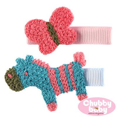 Chubby Baby巧比貝比 兒童寶寶髮夾Lovely(E)