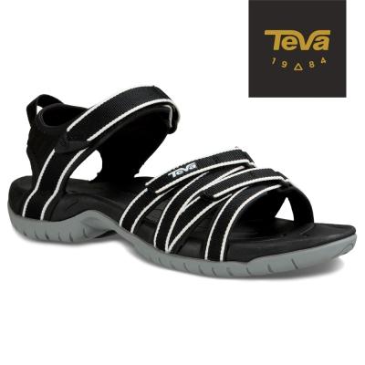 TEVA 美國-女 Tirra 機能運動涼鞋 (黑白)
