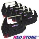 RED STONE for FUJI SYSTEM FS8133 磁性帶黑色碳帶組(1組6入裝)