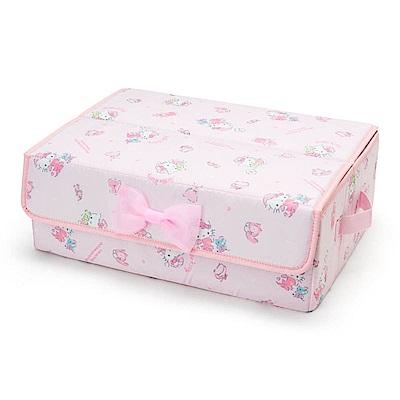 Sanrio HELLO KITTY貼身衣物收納箱(甜蜜睡衣)