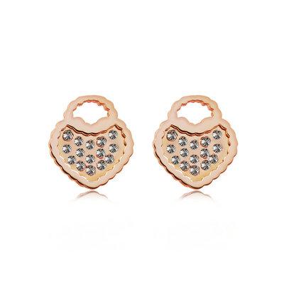 ACUBY-ACUBY-鋼製提把愛心耳環