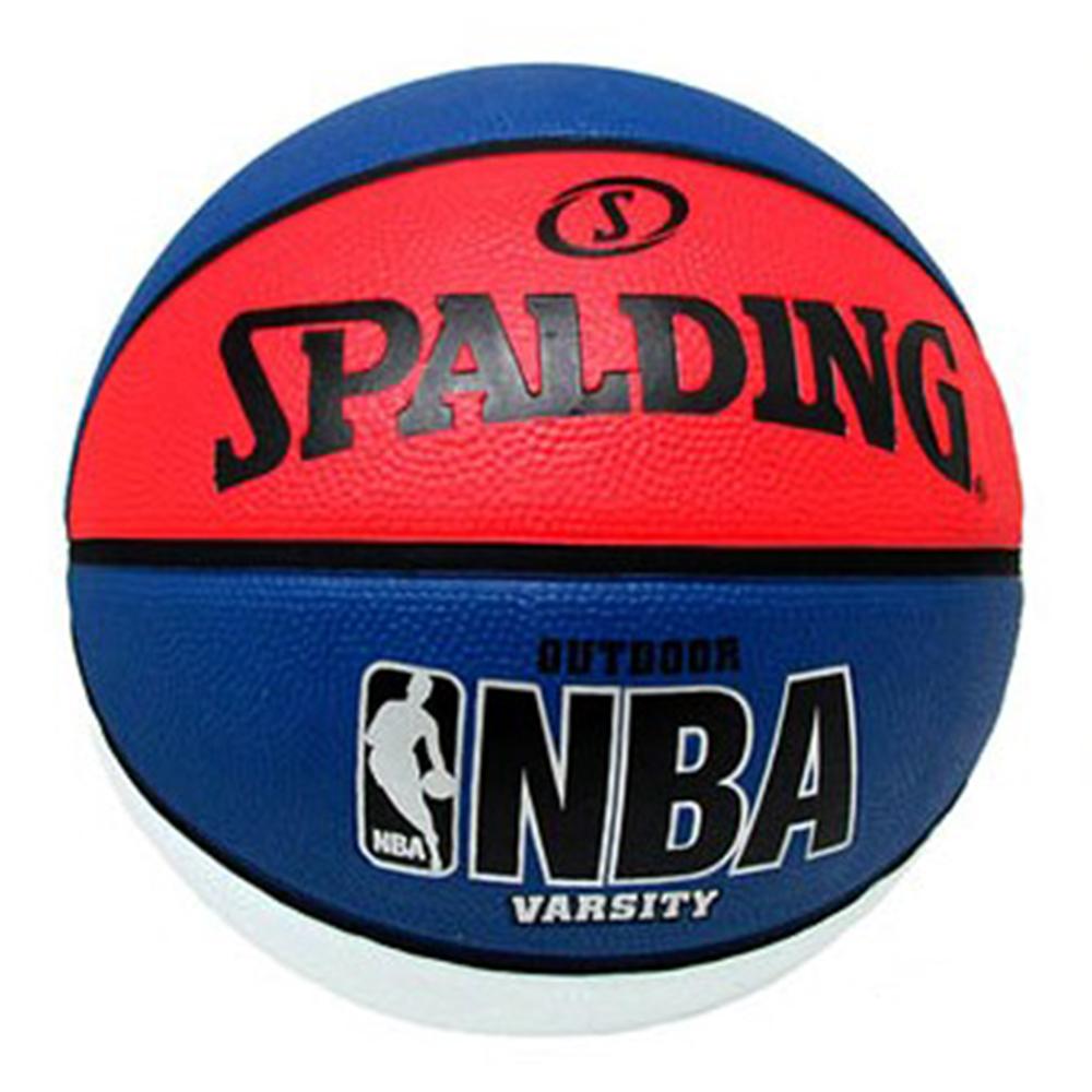 SPALDING 斯伯丁 NBA Varsity 籃球 白/藍/紅 7號