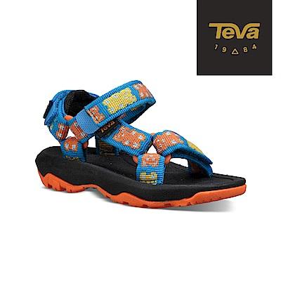 【TEVA】原廠貨 幼童 Hurricane XLT2 機能運動涼鞋/雨鞋/水鞋(小熊藍-TV1019390TGMYB)