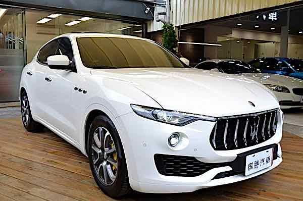 2017 Maserati Levante S 總代理