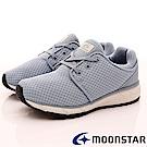 日本Moonstar戶外健走鞋-涼感止滑系列-1587藍(女段)