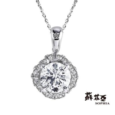 蘇菲亞 SOPHIA - 鍾情1.00克拉FVS2鑽石項鍊