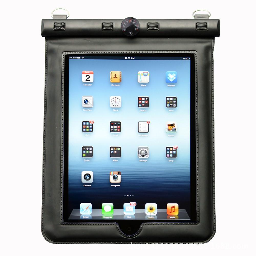 DigiStone 蘋果 iPad 平板電腦 9.7吋以下防水袋(溫度計型)