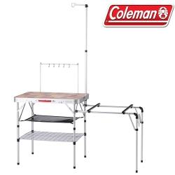 Coleman 31294 ALL IN ONE廚房桌  鋁合金休閒桌/露營桌/料理桌