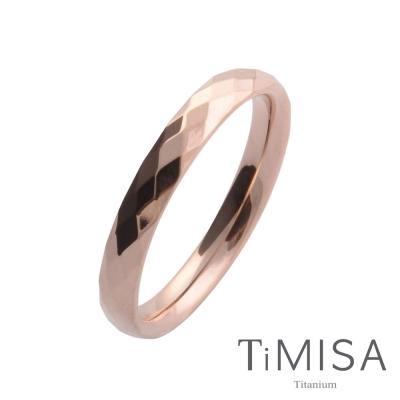 TiMISA 格緻真愛-細版 純鈦戒指(雙色可選)
