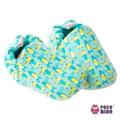英國POCONIDO 手工嬰兒鞋_柯比小鱷魚