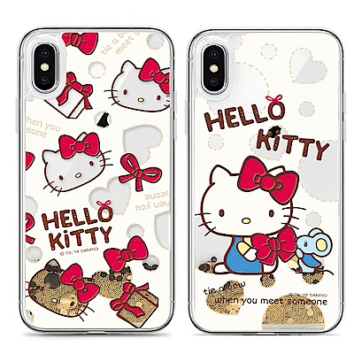 GARMMA Hello Kitty iPhone X- 浮雕流沙保護殼