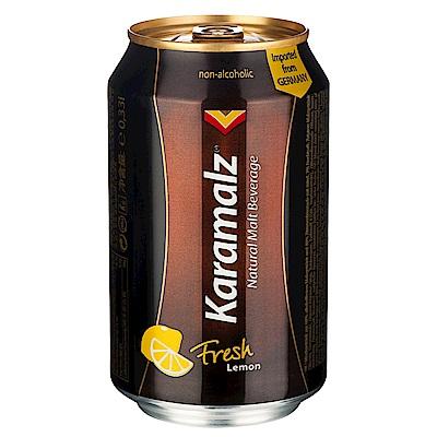 德國進口卡麥隆黑麥汁Karamalz-檸檬(330mlx24入)