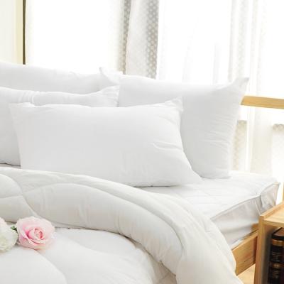 亞曼達Amanda 高彈力純白體驗 輕柔蓬鬆.舒眠枕(2入)