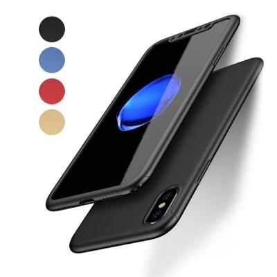 UCASE iPhone X 5.8吋 360度全包覆保護殼 手機殼+PET保護...