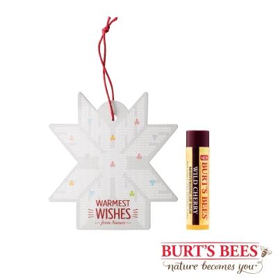 Burt's Bees 雪花櫻桃護唇膏組