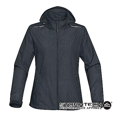 【加拿大STORMTECH】KXH-1W限定版超輕量防潑透氣連帽外套-女-午夜藍