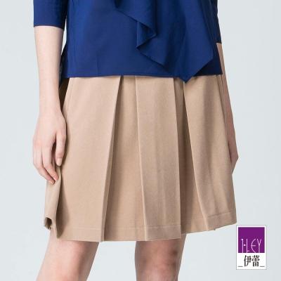 ILEY伊蕾 日本進口素材褶裙體驗價商品(黑/可)