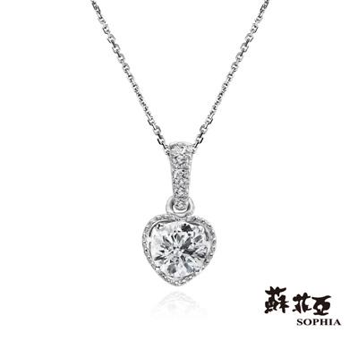 蘇菲亞SOPHIA 鑽石項鍊-無限的愛0.30克拉FVS2鑽鍊