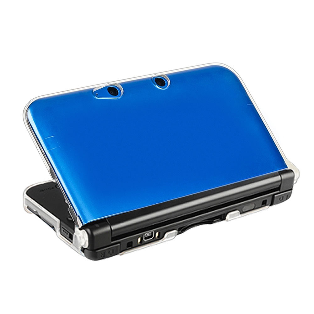 3DS LL XL專用水漾晶透保護硬殼透明殼保護殼