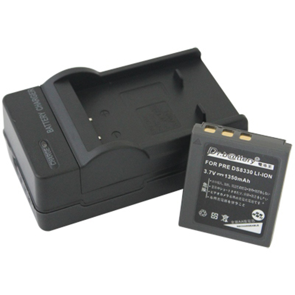 電池王 For Premier DS-8330 系列高容量鋰電池+充電器組