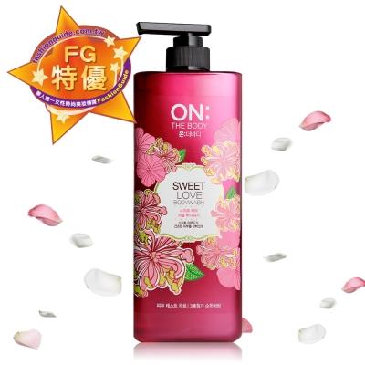 ON THE BODY 甜蜜愛戀香水沐浴精 900ml