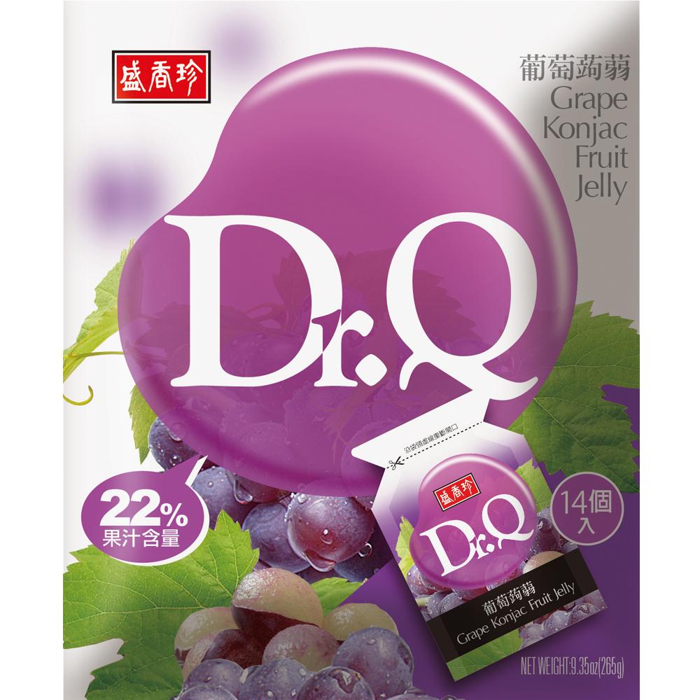 盛香珍 Dr. Q葡萄蒟蒻(265g)